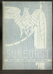 1941 Edition, Washington High School - Sunburst Yearbook (Washington Court House, OH)
