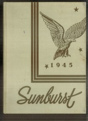 1945 Edition, Washington High School - Sunburst Yearbook (Washington Court House, OH)