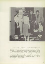 Page 11, 1956 Edition, Washington High School - Sunburst Yearbook (Washington Court House, OH) online yearbook collection