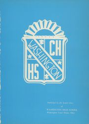Page 5, 1956 Edition, Washington High School - Sunburst Yearbook (Washington Court House, OH) online yearbook collection