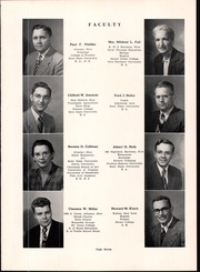 Page 11, 1952 Edition, Southeast High School - Pirates Log Yearbook (Ravenna, OH) online yearbook collection