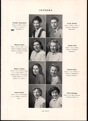 Page 15, 1952 Edition, Southeast High School - Pirates Log Yearbook (Ravenna, OH) online yearbook collection
