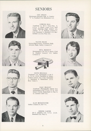 Page 13, 1955 Edition, Southeast High School - Pirates Log Yearbook (Ravenna, OH) online yearbook collection