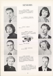 Page 14, 1955 Edition, Southeast High School - Pirates Log Yearbook (Ravenna, OH) online yearbook collection