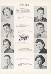 Page 15, 1955 Edition, Southeast High School - Pirates Log Yearbook (Ravenna, OH) online yearbook collection