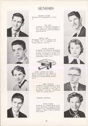 Page 16, 1955 Edition, Southeast High School - Pirates Log Yearbook (Ravenna, OH) online yearbook collection