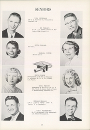 Page 17, 1955 Edition, Southeast High School - Pirates Log Yearbook (Ravenna, OH) online yearbook collection