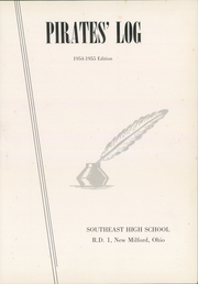 Page 5, 1955 Edition, Southeast High School - Pirates Log Yearbook (Ravenna, OH) online yearbook collection