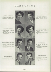 Page 17, 1952 Edition, Canton South High School - Moderian Yearbook (Canton, OH) online yearbook collection