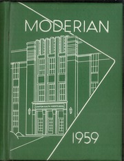 Page 1, 1959 Edition, Canton South High School - Moderian Yearbook (Canton, OH) online yearbook collection