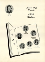 Page 7, 1959 Edition, Utica High School - Builder Yearbook (Utica, OH) online yearbook collection