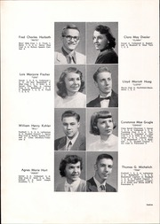 Page 16, 1952 Edition, Westlake High School - Panorama Yearbook (Westlake, OH) online yearbook collection