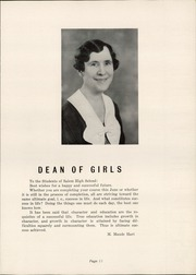 Page 15, 1935 Edition, Salem High School - Quaker Yearbook (Salem, OH) online yearbook collection