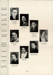 Page 16, 1935 Edition, Salem High School - Quaker Yearbook (Salem, OH) online yearbook collection