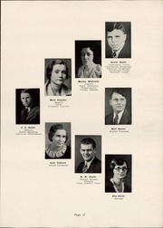 Page 17, 1935 Edition, Salem High School - Quaker Yearbook (Salem, OH) online yearbook collection
