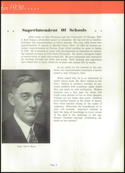 Page 13, 1936 Edition, Salem High School - Quaker Yearbook (Salem, OH) online yearbook collection
