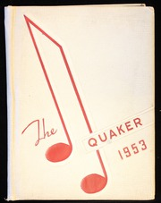 1953 Edition, Salem High School - Quaker Yearbook (Salem, OH)