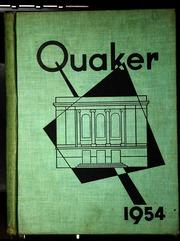 1954 Edition, Salem High School - Quaker Yearbook (Salem, OH)