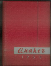 1958 Edition, Salem High School - Quaker Yearbook (Salem, OH)
