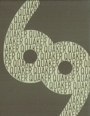1969 Edition, Salem High School - Quaker Yearbook (Salem, OH)