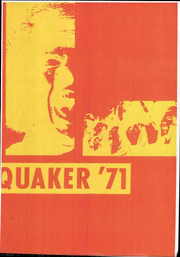 1971 Edition, Salem High School - Quaker Yearbook (Salem, OH)