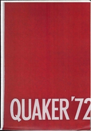 Page 1, 1972 Edition, Salem High School - Quaker Yearbook (Salem, OH) online yearbook collection