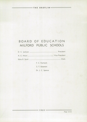 Page 11, 1935 Edition, Milford High School - Droflim Yearbook (Milford, OH) online yearbook collection