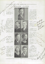 Page 17, 1935 Edition, Milford High School - Droflim Yearbook (Milford, OH) online yearbook collection
