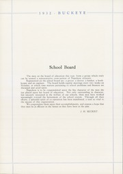 Page 10, 1932 Edition, Napoleon High School - Buckeye Yearbook (Napoleon, OH) online yearbook collection
