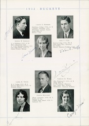 Page 15, 1932 Edition, Napoleon High School - Buckeye Yearbook (Napoleon, OH) online yearbook collection