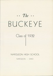 Page 5, 1932 Edition, Napoleon High School - Buckeye Yearbook (Napoleon, OH) online yearbook collection