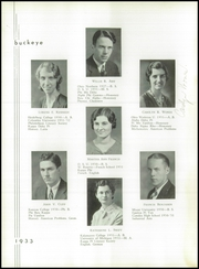 Page 16, 1933 Edition, Napoleon High School - Buckeye Yearbook (Napoleon, OH) online yearbook collection