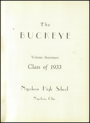 Page 5, 1933 Edition, Napoleon High School - Buckeye Yearbook (Napoleon, OH) online yearbook collection