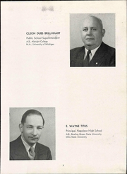 Page 13, 1947 Edition, Napoleon High School - Buckeye Yearbook (Napoleon, OH) online yearbook collection