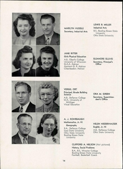 Page 16, 1947 Edition, Napoleon High School - Buckeye Yearbook (Napoleon, OH) online yearbook collection