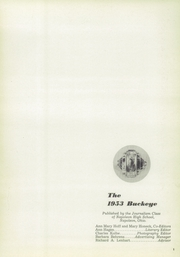 Page 5, 1953 Edition, Napoleon High School - Buckeye Yearbook (Napoleon, OH) online yearbook collection