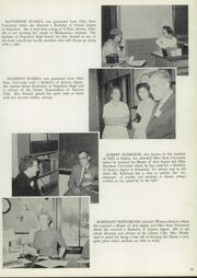 Page 17, 1959 Edition, Napoleon High School - Buckeye Yearbook (Napoleon, OH) online yearbook collection