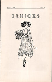 Page 13, 1926 Edition, Cambridge High School - Cantab Yearbook (Cambridge, OH) online yearbook collection