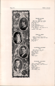 Page 16, 1926 Edition, Cambridge High School - Cantab Yearbook (Cambridge, OH) online yearbook collection