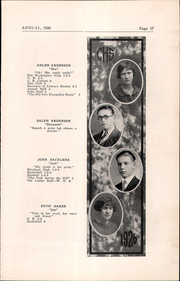 Page 17, 1926 Edition, Cambridge High School - Cantab Yearbook (Cambridge, OH) online yearbook collection