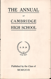 Page 3, 1926 Edition, Cambridge High School - Cantab Yearbook (Cambridge, OH) online yearbook collection