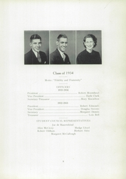 Page 13, 1934 Edition, Cambridge High School - Cantab Yearbook (Cambridge, OH) online yearbook collection