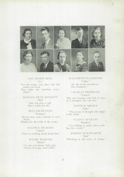 Page 15, 1934 Edition, Cambridge High School - Cantab Yearbook (Cambridge, OH) online yearbook collection