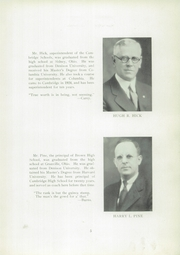 Page 9, 1934 Edition, Cambridge High School - Cantab Yearbook (Cambridge, OH) online yearbook collection