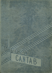 Cambridge High School - Cantab Yearbook (Cambridge, OH) online yearbook collection, 1940 Edition, Page 1
