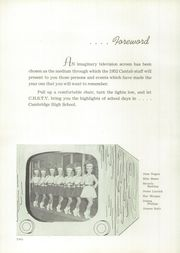 Page 6, 1952 Edition, Cambridge High School - Cantab Yearbook (Cambridge, OH) online yearbook collection