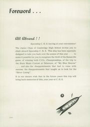 Page 6, 1953 Edition, Cambridge High School - Cantab Yearbook (Cambridge, OH) online yearbook collection