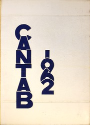 Page 1, 1962 Edition, Cambridge High School - Cantab Yearbook (Cambridge, OH) online yearbook collection