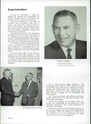 Page 16, 1965 Edition, Cambridge High School - Cantab Yearbook (Cambridge, OH) online yearbook collection
