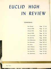 Page 16, 1950 Edition, Euclid High School - Euclidian Yearbook (Euclid, OH) online yearbook collection